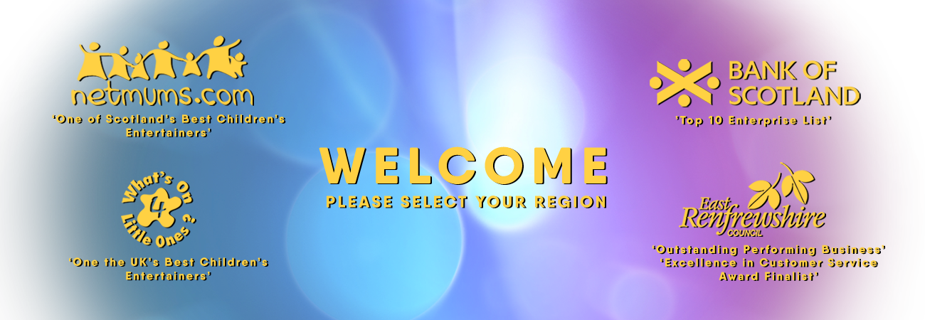 Welcome. Please Select Your Region.